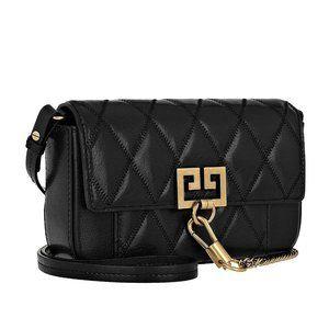 Givenchy Mini Quilted Leather Shoulder Pocket Bag